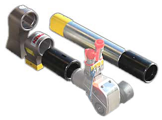 extension arms for hydraulic torque wrenches