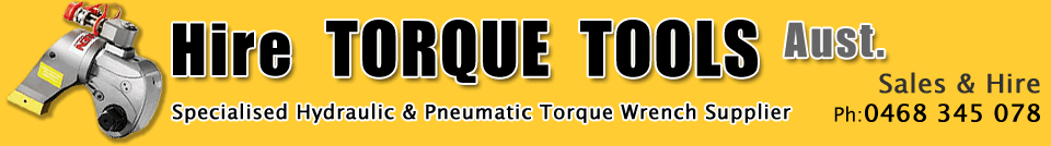 About Hire Torque Tools Victoria